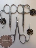 Ножнички маникюрные Zinger Premium 1303 для левшей  с профессиональной заточкой для Level_Up_Nails