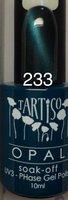 """Гель-лак Tartiso OPAL c эффектом """"Кошачий глаз"""" - 233"""