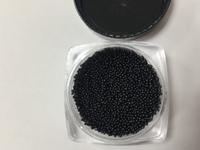 Бульонки черные (микробисер)