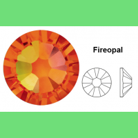 Стразы Swarovski Fireopal (арт. 237) с плоским дном