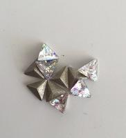 """NEW!!! Ювелирные кристаллы формы """"Триллион"""" (треугольник)"""