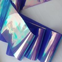 """Фольга для дизайна """"Битое стекло"""" сиреневая"""