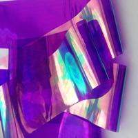 """Фольга для дизайна """"Битое стекло"""" фиолетовая"""
