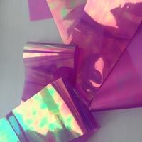 """Фольга для дизайна """"Битое стекло"""" светло-фиолетовая"""