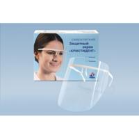 ЭКРАН ''Кристидент'' - прозрачный  для защиты глаз и органов дыхания