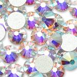 Стразы Swarovski Crystal AB с плоским дном