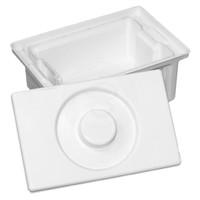 Ванночка для дезинфекции инструментов, цвет белый, 1л.